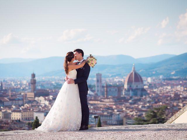 Il matrimonio di Lorenzo e Beatrice a San Casciano in Val di Pesa, Firenze 56
