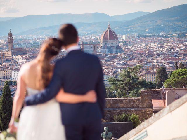 Il matrimonio di Lorenzo e Beatrice a San Casciano in Val di Pesa, Firenze 58