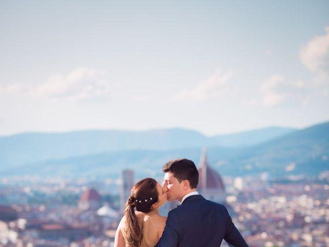 Il matrimonio di Lorenzo e Beatrice a San Casciano in Val di Pesa, Firenze 1