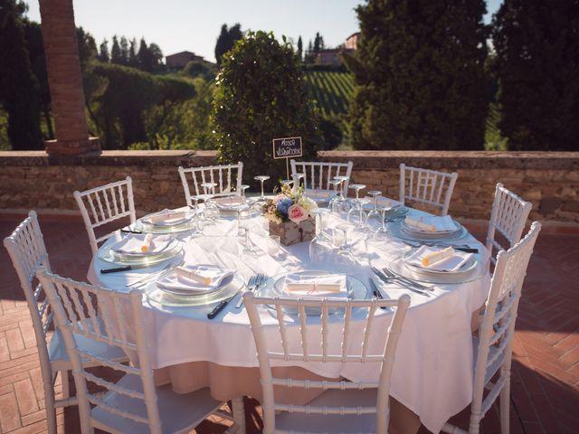 Il matrimonio di Lorenzo e Beatrice a San Casciano in Val di Pesa, Firenze 61