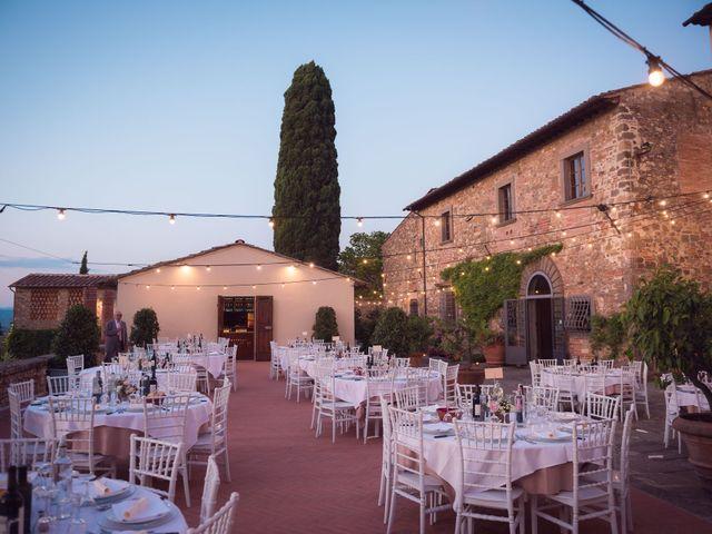 Il matrimonio di Lorenzo e Beatrice a San Casciano in Val di Pesa, Firenze 81