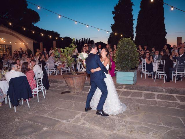 Il matrimonio di Lorenzo e Beatrice a San Casciano in Val di Pesa, Firenze 83