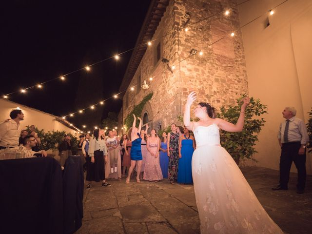 Il matrimonio di Lorenzo e Beatrice a San Casciano in Val di Pesa, Firenze 89