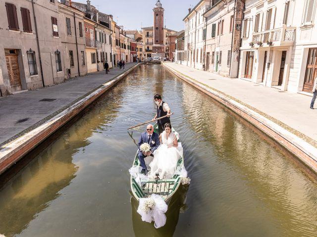 Il matrimonio di Andrea e Milena a Comacchio, Ferrara 14