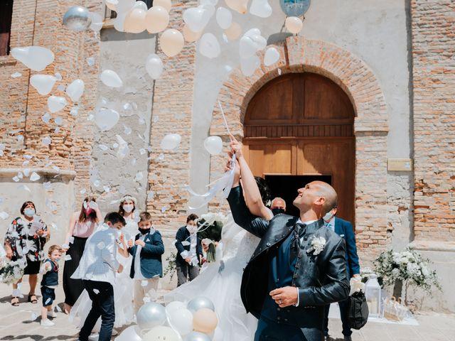 Il matrimonio di Andrea e Milena a Comacchio, Ferrara 27