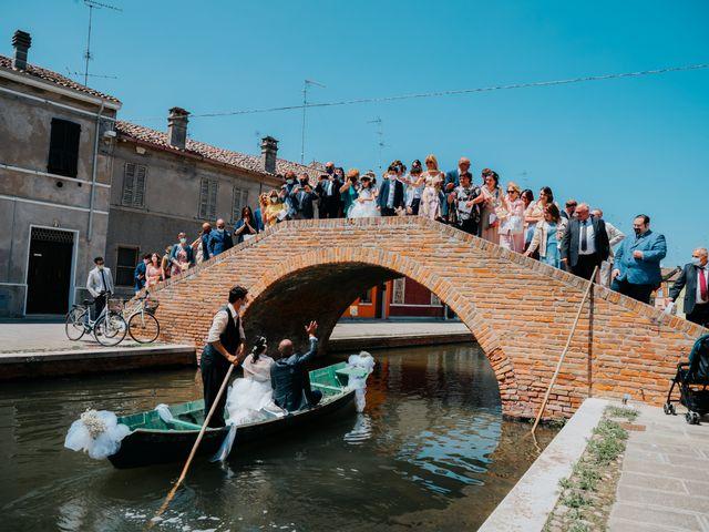 Il matrimonio di Andrea e Milena a Comacchio, Ferrara 34