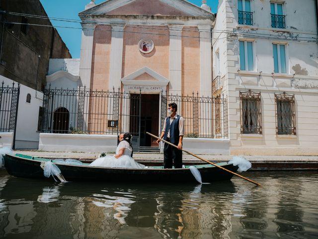 Il matrimonio di Andrea e Milena a Comacchio, Ferrara 35