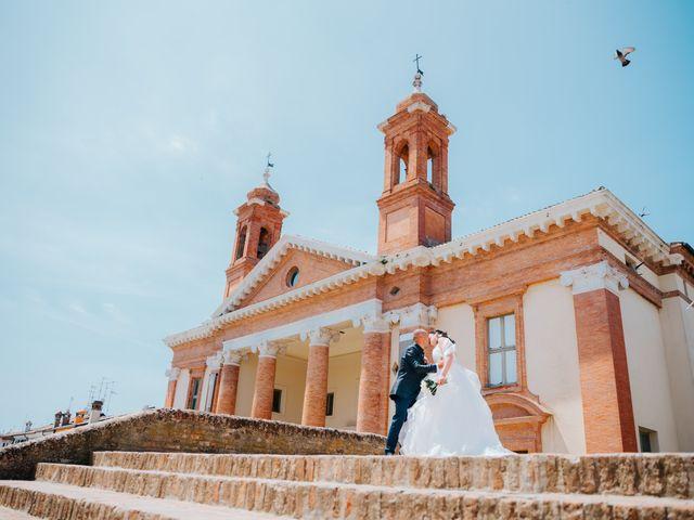Il matrimonio di Andrea e Milena a Comacchio, Ferrara 37