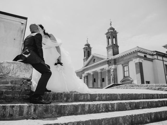 Il matrimonio di Andrea e Milena a Comacchio, Ferrara 39