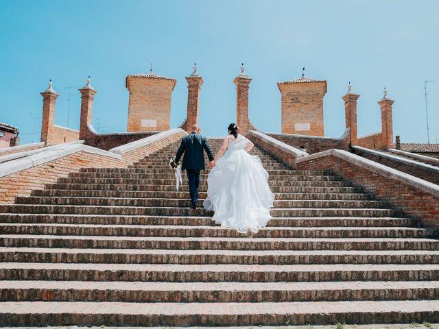Il matrimonio di Andrea e Milena a Comacchio, Ferrara 42