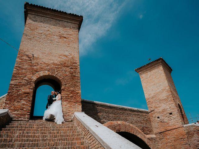 Il matrimonio di Andrea e Milena a Comacchio, Ferrara 44