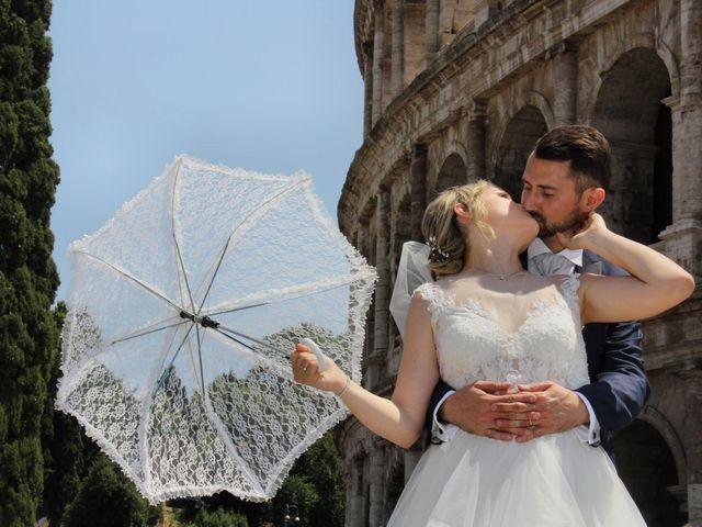 Il matrimonio di Claudio e Veronica a Roma, Roma 2