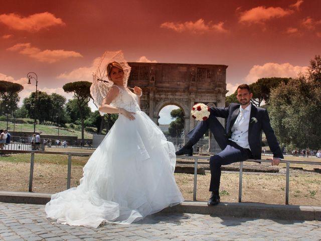 Il matrimonio di Claudio e Veronica a Roma, Roma 18