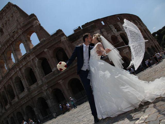 Il matrimonio di Claudio e Veronica a Roma, Roma 19