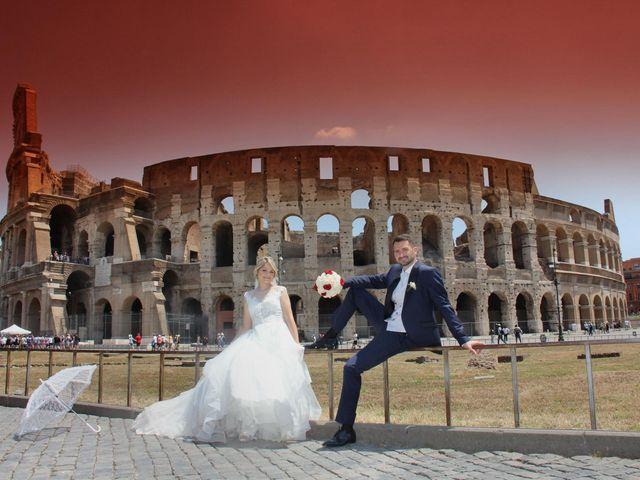 Il matrimonio di Claudio e Veronica a Roma, Roma 20