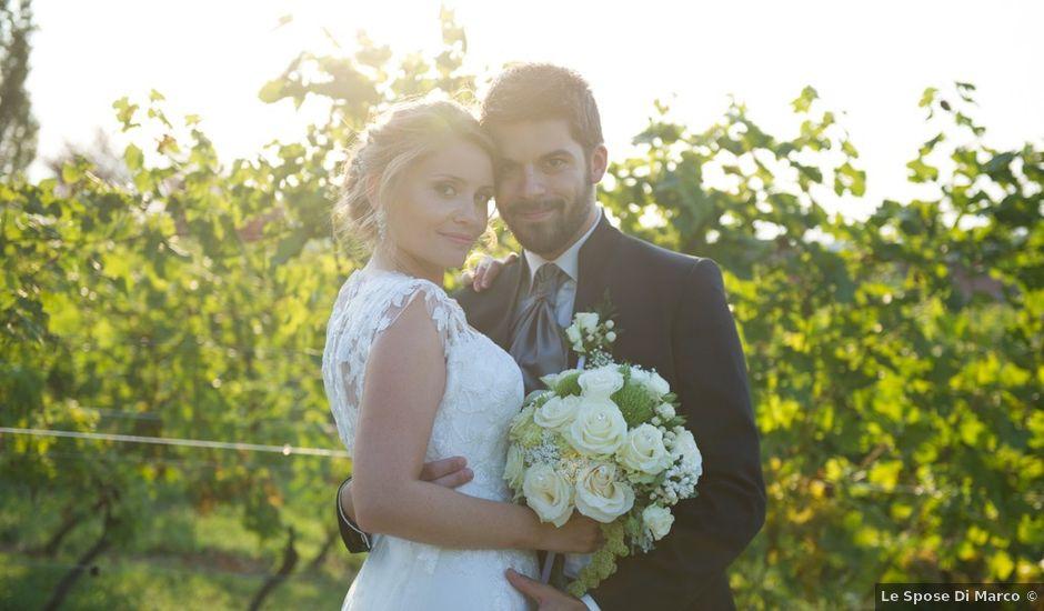 Il matrimonio di Francesco e Alessia a Vignale Monferrato, Alessandria