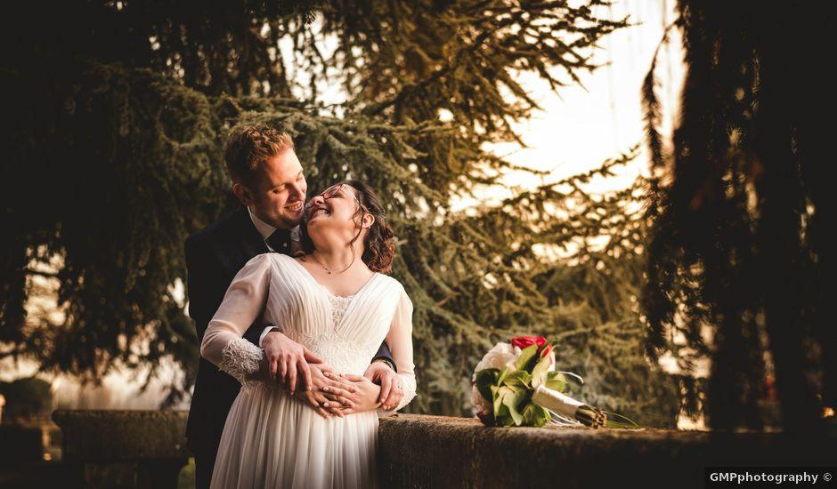 Il matrimonio di Mattia e Monica a Monteforte d'Alpone, Verona