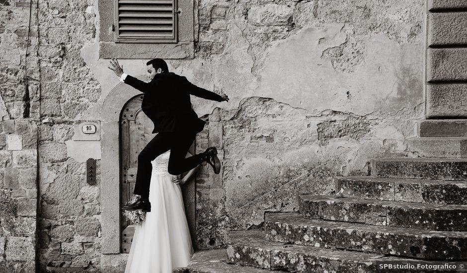 Il matrimonio di Gabriele e Ilaria a Barberino Val d'Elsa, Firenze