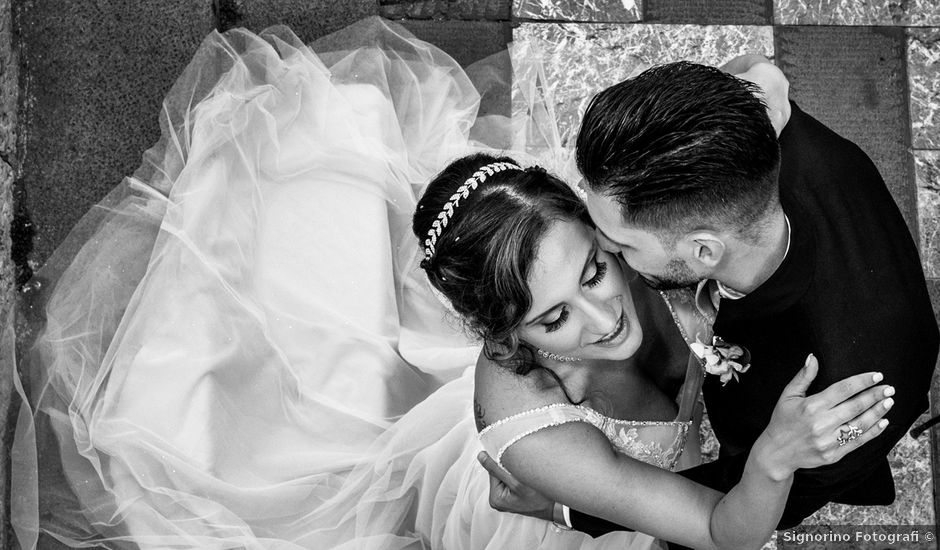 Il matrimonio di Corrado e Marta a Taormina, Messina