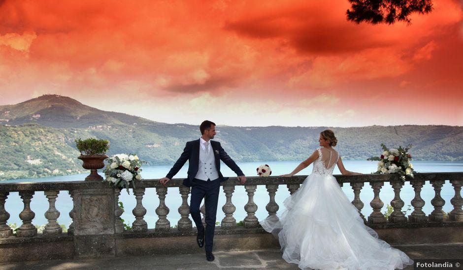 Il matrimonio di Claudio e Veronica a Roma, Roma
