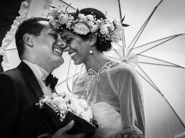 le nozze di Sharon Carmen e Alberto