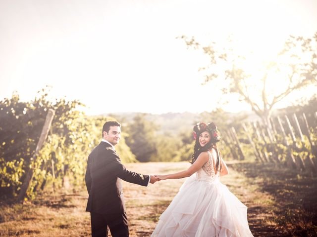 le nozze di Jenny e Alessio