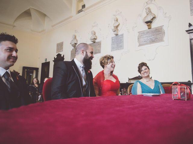 Il matrimonio di Fabio e Cory a Poggio Berni, Rimini 42