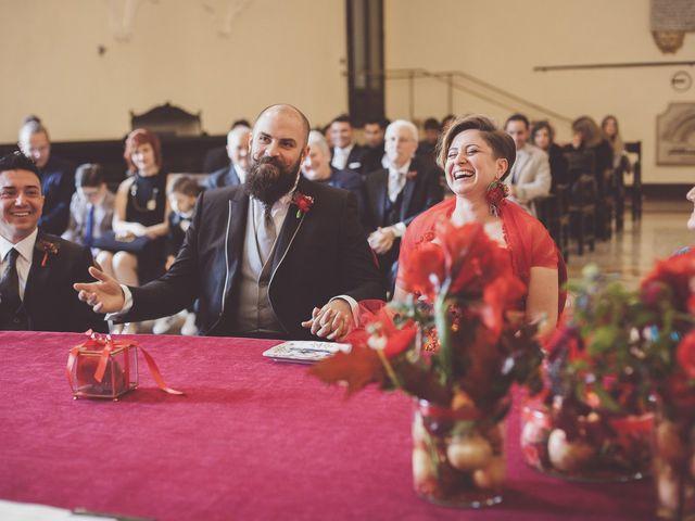 Il matrimonio di Fabio e Cory a Poggio Berni, Rimini 46