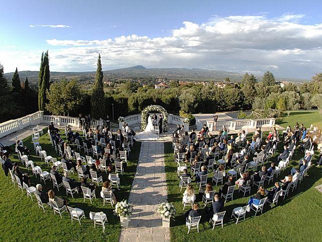 Il matrimonio di Chiara e Matteo a Bassano Romano, Viterbo 28
