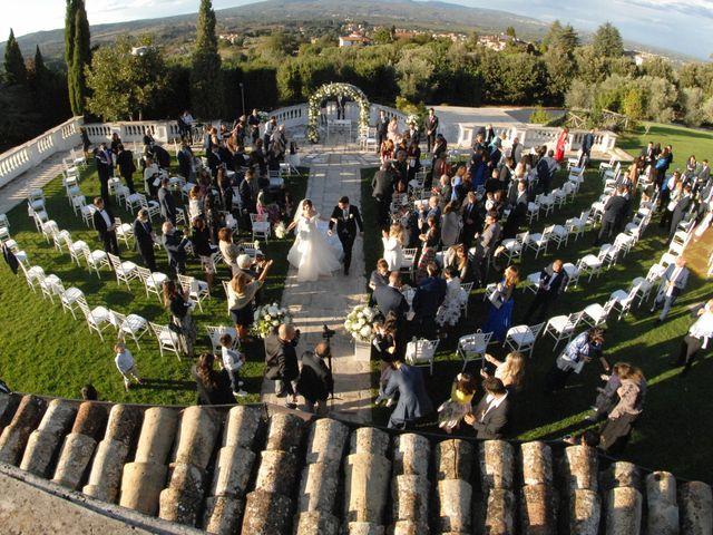 Il matrimonio di Chiara e Matteo a Bassano Romano, Viterbo 30