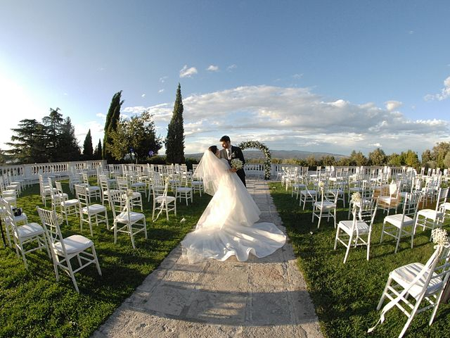 Il matrimonio di Chiara e Matteo a Bassano Romano, Viterbo 35