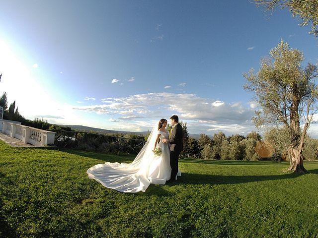 Il matrimonio di Chiara e Matteo a Bassano Romano, Viterbo 41
