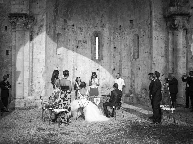 Il matrimonio di Nicola e Laura a Alberese, Grosseto 45