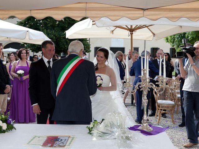 Il matrimonio di Ingrid e Davide a Monselice, Padova 2