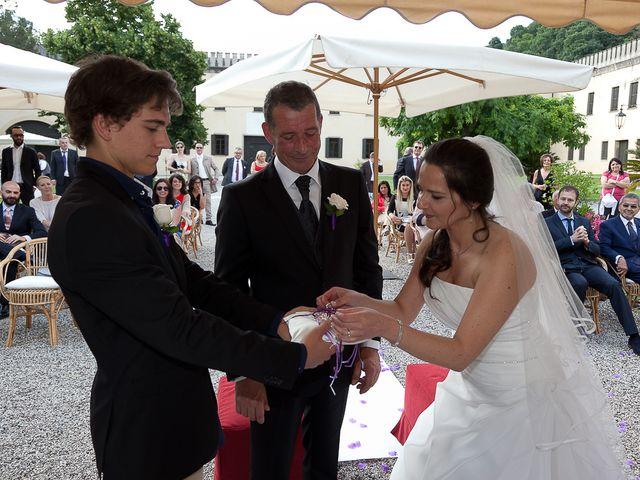 Il matrimonio di Ingrid e Davide a Monselice, Padova 1