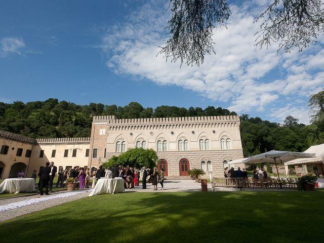 Il matrimonio di Ingrid e Davide a Monselice, Padova 15