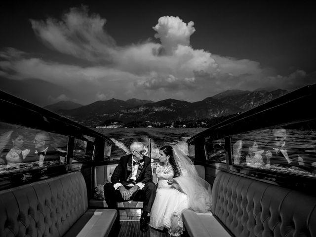 Il matrimonio di MAtthias e Beatriz a Lenno, Como 1