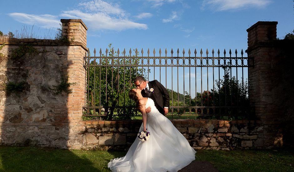 Il matrimonio di Ingrid e Davide a Monselice, Padova