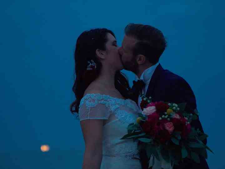 le nozze di Enrika e Federico