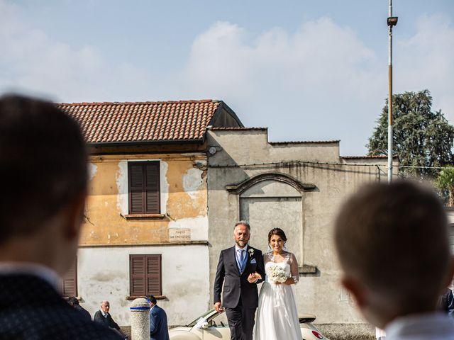 Il matrimonio di Jacopo e Margherita a Ossona, Milano 55