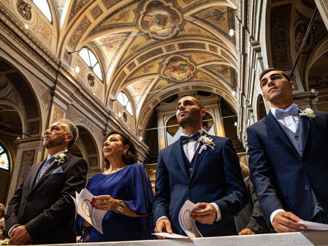 Il matrimonio di Jacopo e Margherita a Ossona, Milano 57