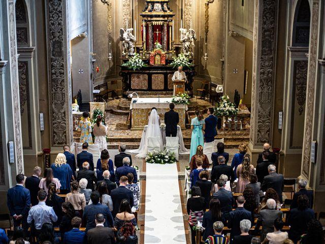 Il matrimonio di Jacopo e Margherita a Ossona, Milano 89
