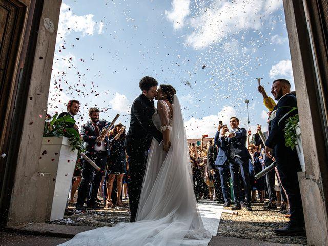Il matrimonio di Jacopo e Margherita a Ossona, Milano 100