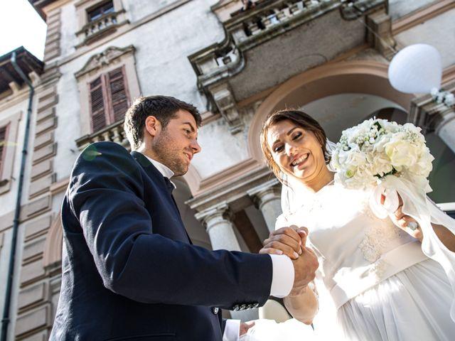 Il matrimonio di Jacopo e Margherita a Ossona, Milano 113