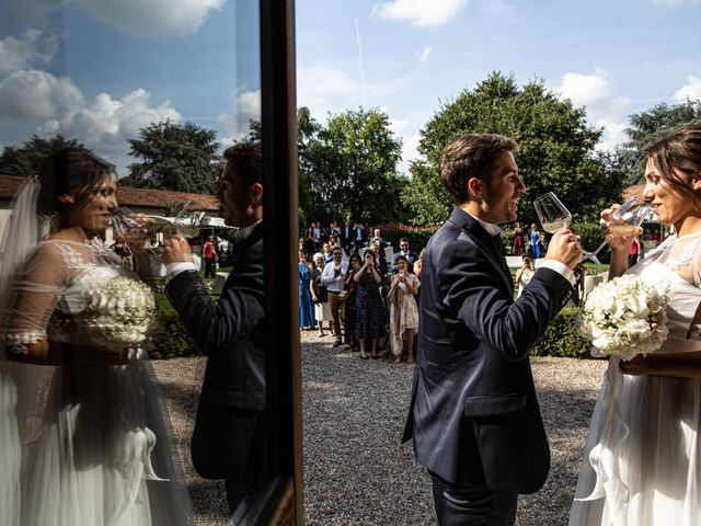 Il matrimonio di Jacopo e Margherita a Ossona, Milano 115