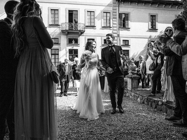 Il matrimonio di Jacopo e Margherita a Ossona, Milano 116