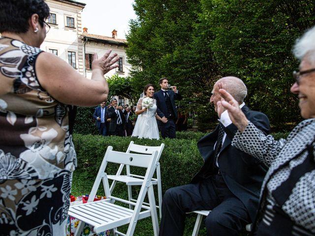 Il matrimonio di Jacopo e Margherita a Ossona, Milano 117