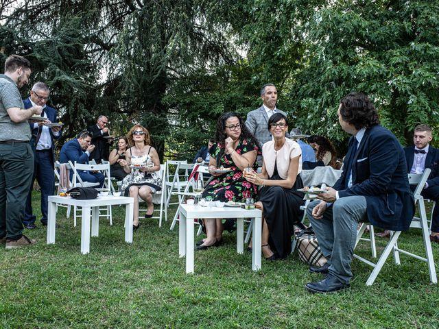 Il matrimonio di Jacopo e Margherita a Ossona, Milano 123