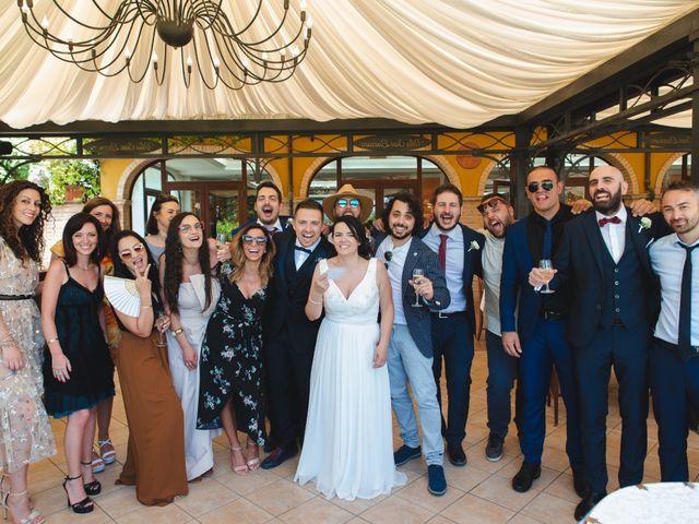 Il matrimonio di Marco e Valentina a Acquaviva Picena, Ascoli Piceno 114