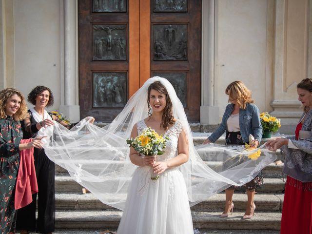 Il matrimonio di Andrea e Miriam a Lazzate, Monza e Brianza 40